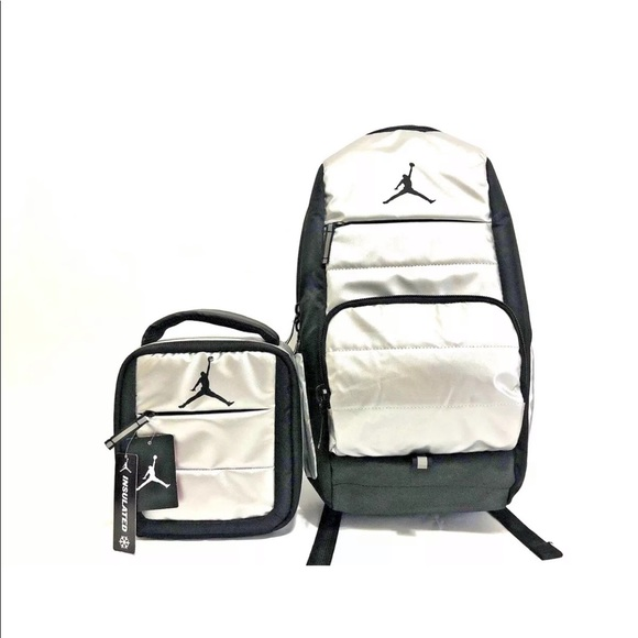 29bbd95336e25e Nike Air Jordan Back Pack with matching Lunch Bag
